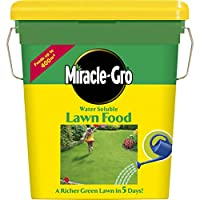 Miracle-Gro Water Soluble Lawn Food 400 sq m (2 kg) Tub