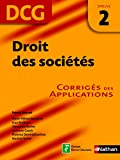 Droit des sociétés - épreuve 2 - DCG corrigés (EXPERT COMPTA) (French Edition)