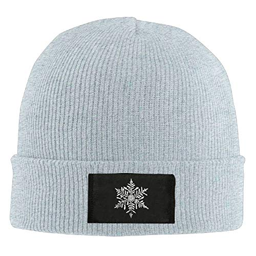 Bikofhd Christmas Snowflake Winter Warm Knit Hats Skull Caps Thick Cuff Beanie Hat for Men and Women New5 -