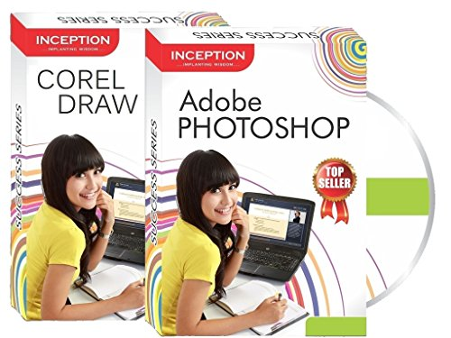 Inception India Learn Adobe Photoshop + Corel Draw (Inception Success Series - 2 CDs)