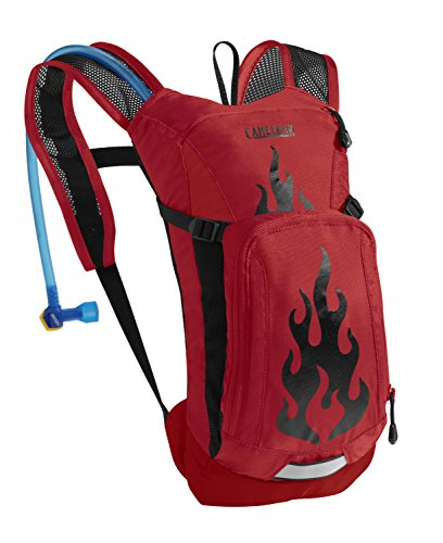 camelbak-zaino-idrico-bambino-rosso-barbados-cherry-flames-33-x-15-x-11-cm-15-litri