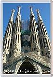 Sagrada Familia Church - Barcelona - Spain - Jumbo Fridge Magnet - Brand New Gift/Present/Souvenir