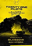 Desconocido Twenty One Pilots Gabardina Glasgow SSE Hydro Marzo 2019 el Bandito Tour Póster Foto Tyler Josh Mono Estresado out 036 (A5-A4-A3) - A5