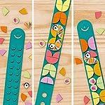 LEGO-Dots-Braccialetto-Love-Birds-con-Fascia-Regolabile-Kit-di-Gioielli-Creativi