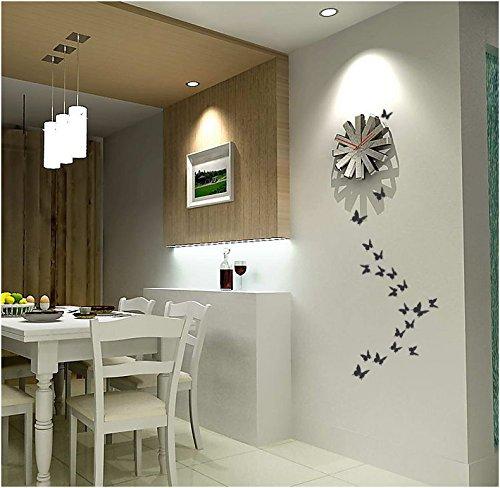 comprare on line ufengke® 12 Pezzi 3D Farfalle Adesivi Murali Fashion Design DIY Farfalla Arte Adesivi da Parete Artigianato Decorazione Domestica, Effetto Specchio prezzo