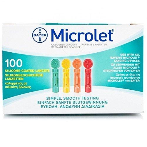 Microlet Lanzetten 100 stk