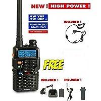 INTEK KT-980 HP RICETRASMETTITORE Portatile VHF 8W - UHF 7W - UV-5R -