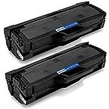 OfficeWorld Toner per Samsung MLT-D111S Toner Cartucce Compatibile con Samsung Xpress SL-M2026 SL-M2070FW SL-M2026W SL-M2070 SL-M2070W SL-M2022 SL-M2022W SL-M2020 SL-M2020W (1,000 Pagine per Nero)