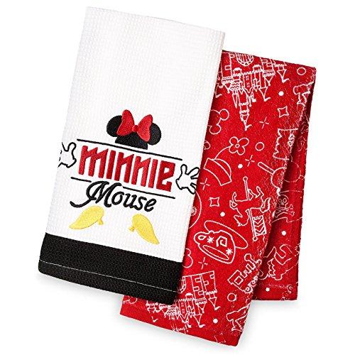 DisneyParks Ich Bin Minnie Maus Küche Geschirrtuch Set (Minnie Maus Handtuch-set)