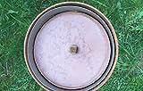 ecosoul Outdoor-Kerze 16cm Durchmesser Leuchtfeuer Kerze Schwimmkerze Gartendeko