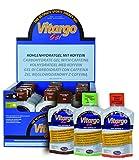 VITARGO preparato alimentare in forma di gel per bevanda dietetica a base di carboidrati con caffeina - adatto agli sportivi per il bilanciamento energetico (Cola, 24 x 45 g)