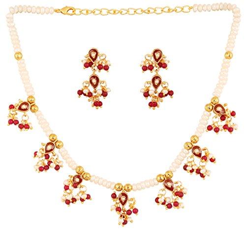 Brave Indian Bollywood Kundan Green Beads Jadau Necklace Earrings Tikka Jewelry Set 2 Fashion Jewelry Jewelry & Watches