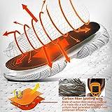 PINPOXE Fußwärmer, Sohlenwärmer, Wärmesohle,Schuhheizung, Beheizbare Thermosohle, Beheizbare Einlegesohlen Thermosohlen, 3 Warmstufen, Größe: 40-44 zuschneidbar, waschbar - 4