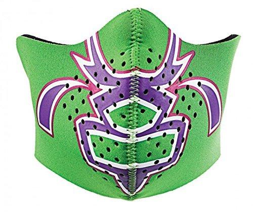 Bula Gesichtsmaske Kids Dash Neopren für Kinder Sturmmaske, Farbe:Grün;Größe:M | 00777221062598
