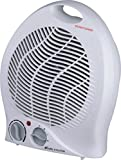 ACORN PORTABLE HOT FAN HEATER TWO SETTING BLOW-1000 W, 2000 W, WHITE