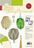 Plissea Transparentpapier Sunny Ornaments: 15 Blatt Transparentpapier und Accessoires für bis zu 15 Modelle, inkl. 3 Anleitungen