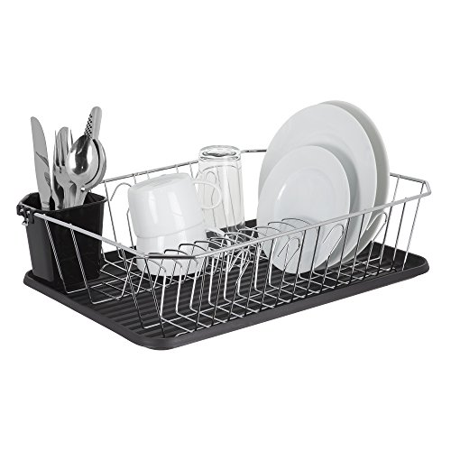 Dish Drying Rack by Homiso™ | with Drip Tray | LARGE