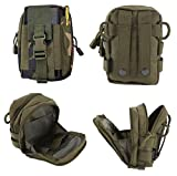 CODi Army Waist Bag Pack Water-Resistant Hip Belt Bag Pouch for Trekking –