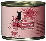 Catz finefood Katzenfutter No.3 Geflügel