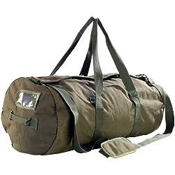 Xcase Sporttasche: XXL-Canvas-Reisetasche mit gepolstertem Schultergurt, 100 Liter (Canvas Bag)