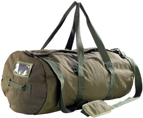 Xcase Seesack XXL: XXL-Canvas-Reisetasche mit gepolstertem Schultergurt, 100 Liter (Canvas Tasche)