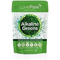 LoveRaw Alkaline Greens - Integratore in polvere