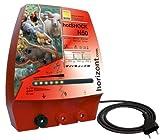 HORIZONT  10614 Elektrozaungerät -hotSHOCK N50- mit 3 Anschlüssen UV-geschützt, vollisoliert, spritzwassergeschützt, farblos