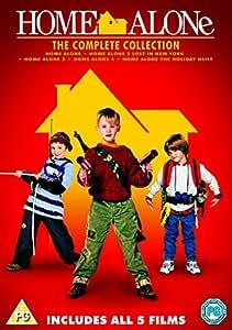 Home Alone 1-5 - Amazon Exclusive [DVD]