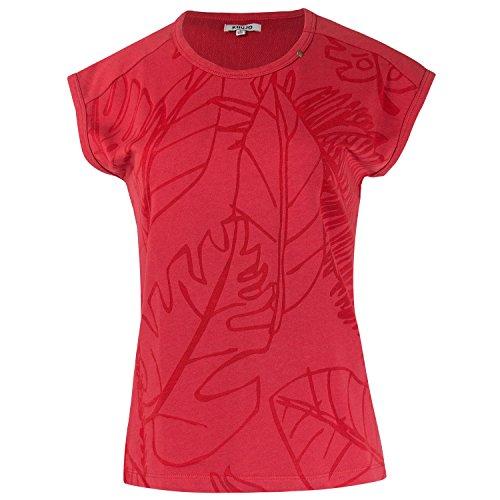Khujo Damen T-Shirt Top Red