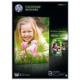 Hp Everyday Photo Paper Q2510A - Papel de fotografía brillante, A4 (210 X 297 mm), 100 hojas