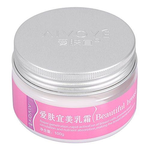 Crema de agrandamiento de senos Crema de busto de pechos Empuje hacia arriba Aumento de extensión reafirmante, 100 g Cuidado de la piel
