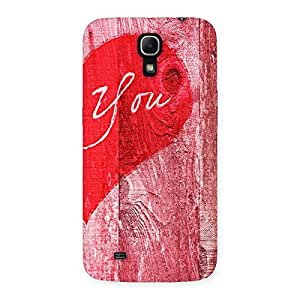 Impressive Pink You Multicolor Back Case Cover for Galaxy Mega 6.3