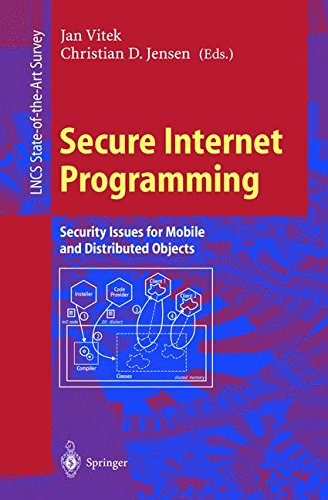 Secure Internet Programming: Security Issues for Mobile and Distributed Objects (Lecture Notes in Computer Science) par Christian D. Jensen, Jan Vitek
