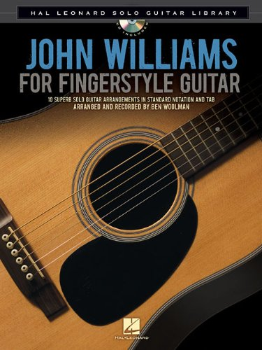 John Williams for Fingerstyle Guitar [With CD (Audio)] (Hal Leonard Solo Guitar Library)