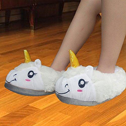Unbekannt, Pantofole donna Weiße Umgeben von