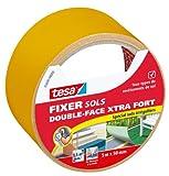 Tesa 05690-00000-00 Fixer Sols -Double-face Xtra Fort Spécial Sols Irréguliers 5 m x 50 mm