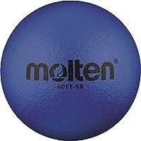 36x Molten Soft de SB Soft–Pelota infantil Escuela de piel de elefante + RS de Sports Bolígrafo, azul, 130g, Ø 180mm