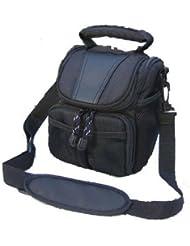 V91–camshot Nylon Color Negro Funda de cámara bolsa de hombro para cámara digital Panasonic DMC FZ1000FZ300DMC DMC FZ62FZ70FZ72DMC DMC DMC DMC FZ50FZ30