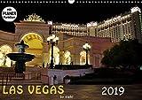 LAS VEGAS - by night (Wandkalender 2019 DIN A3 quer): Tauchen Sie ein in das nächtliche Las Vegas (Geburtstagskalender, 14 Seiten ) (CALVENDO Orte)