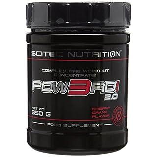 Scitec Nutrition POW3RD 2.0 Pre-Workout Concentrate Powder - 350g, Cherry Crank
