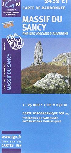 Massif Du Sancy PNR Des Volcans D'Auvergne GPS par IGN