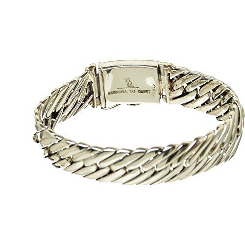 Bouddha to Light B2L Handmade Argent Sterling Bracelet Castor eie 499eur