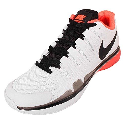Nike Nike Zoom Vapor 9.5 Tour, Chaussures de sport homme Weiß / Schwarz / Rot (Weiß / Schwarz-Ttl Crmsn-Unvrsty Rd)