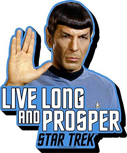 Aquarius Star Trek Spock Quote Funky Chunky Magnet by Aquarius -