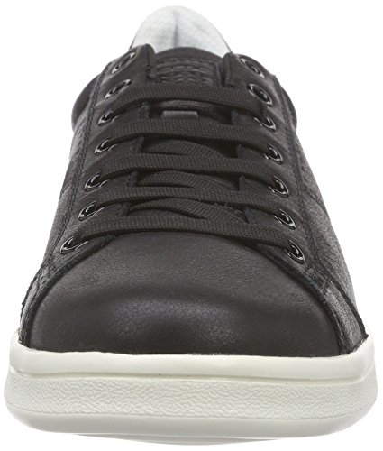 Geox U Warrens B, Baskets Basses Homme Schwarz (BLACKC9999)