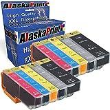Alaskaprint 10 Druckerpatronen komp. Für Epson 33XL 33 XL Multipack für Epson Expression Premium XP 830 640 900 540 530 630 635 645 XP830 XP640 XP900 XP540 XP530 XP630 XP635 Patronen Tintenpatronen