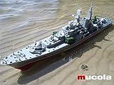 RC Zerstörer Kriegsschiff Schlachtschiff Schiff Flugzeugträger smasher boot