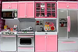 Modern Kitchen Battery Operated Kitchen Playset