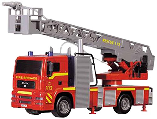 Dickie 203715001038 City Man Fire Engine (Jet-engine-boot)