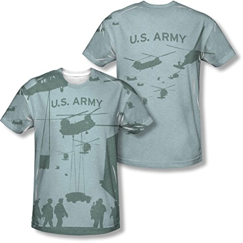 "Army Mens volo (fronte/retro), "" Sublimate White"
